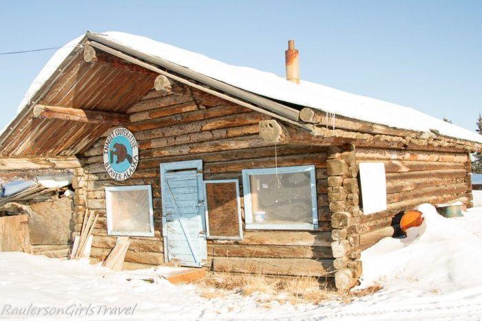 Abandoned Trading Post in Beaver Village Alaska