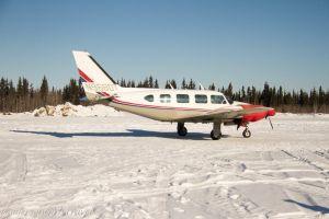 2 Propeller Piper Plane