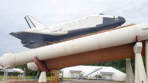 Pathfinder Shuttle full stack at US Space & Rocket Center Huntsville, Alabama
