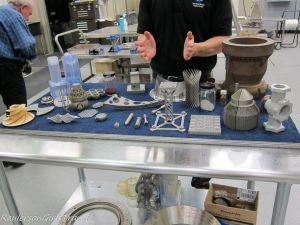 3-d printing demonstration parts