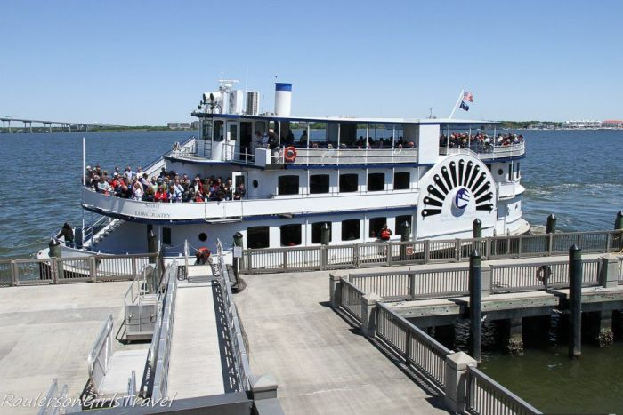 Ferry to Fort Sumter in Charleston, South Carolina