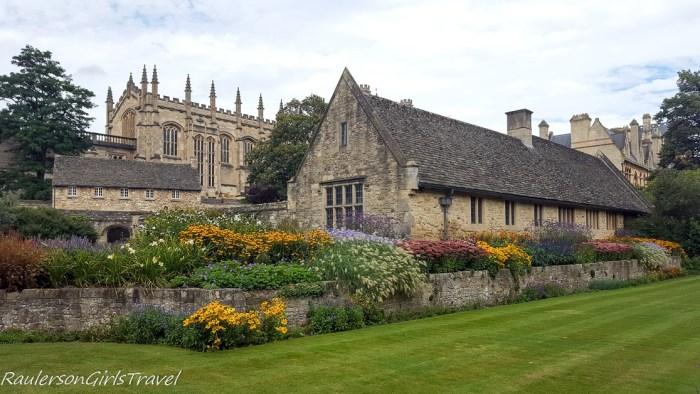 Christ Church Memorial Garden in Oxford, England