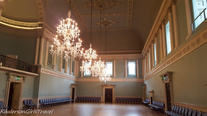Assembly Room in Bath, England