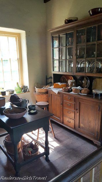 Kitchen in Washington's Headquarters at Valley Forge