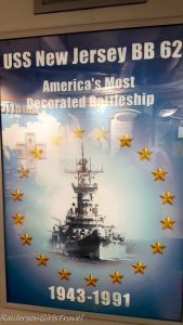 USS New Jersey - Most Decorated Battleship