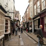 Th Shambles in York England