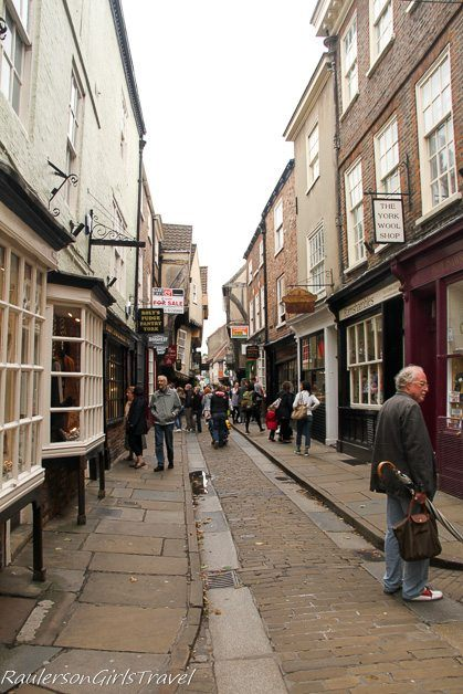 Th Shambles in York England