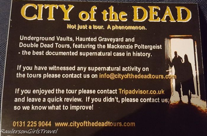 City of the Dead Haunted Graveyard Tour - The Best Ghost Tours Around the World