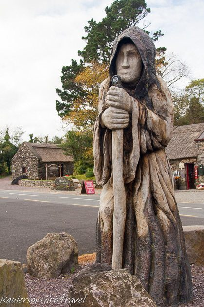 Th Druid at Molly Gallivan's Cottage and Traditional Farm
