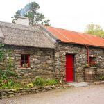 Molly Gallivan's stone building housing the restaurant
