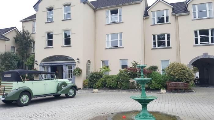 Sheen Falls Lodge luxury hotel in Kenmare Ireland