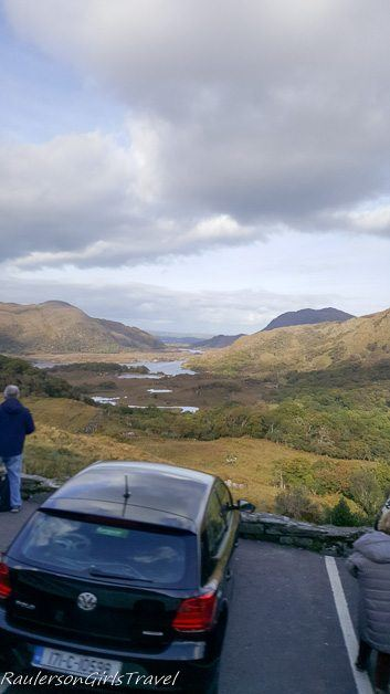 Ladies view point along the Ring of Kerry