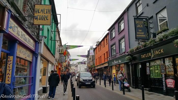 Street in Killarney Ireland