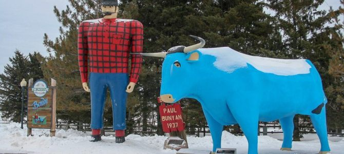 Paul Bunyan – Weird Roadside Attraction
