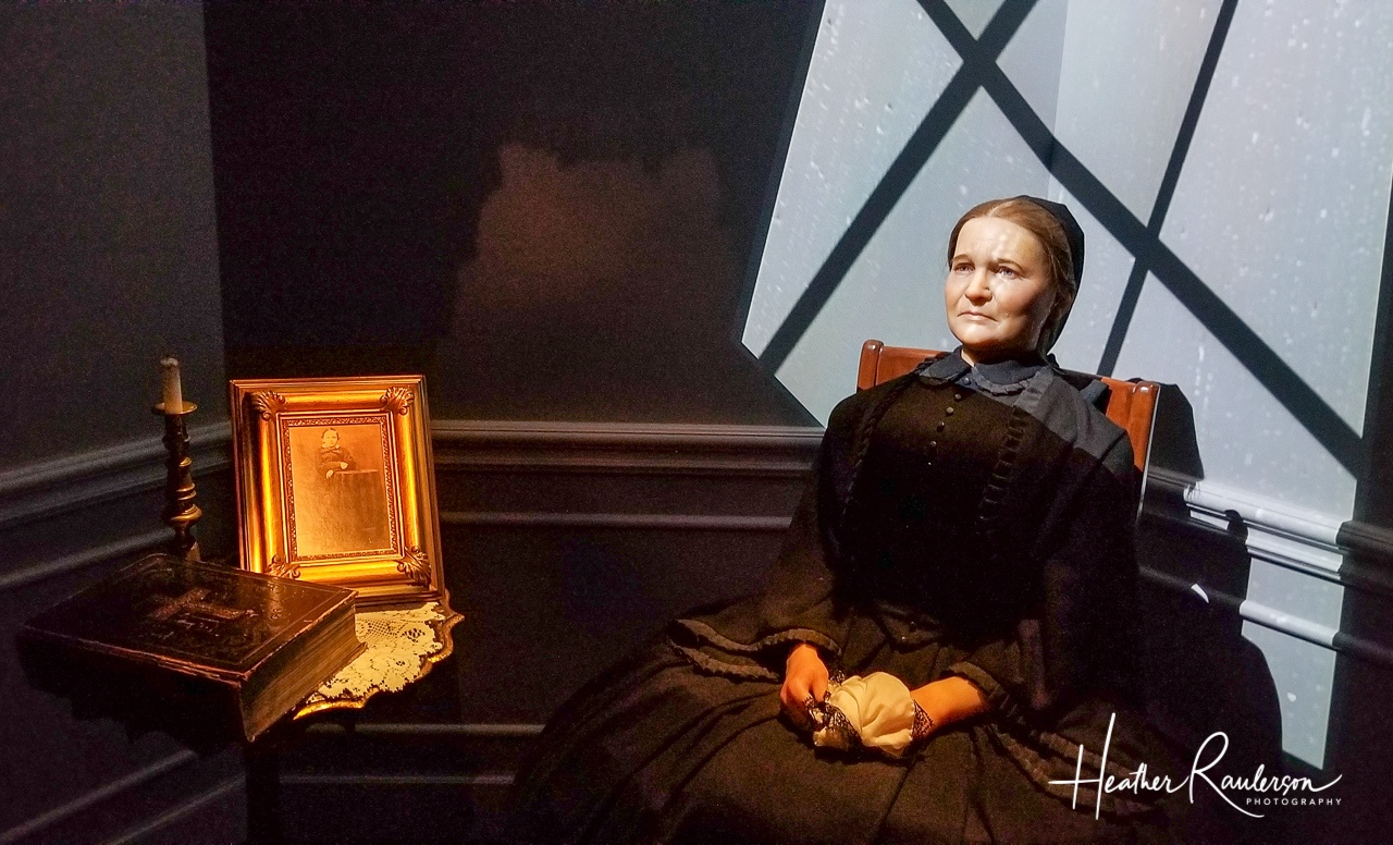 Mary Lincoln in Mourning for Willie