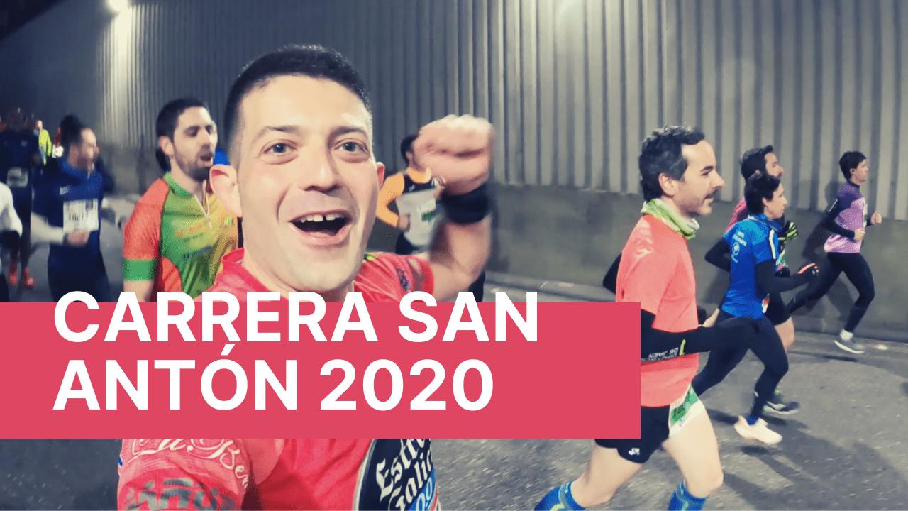 Carrera de San Antón en Jaén mejor 10K de España