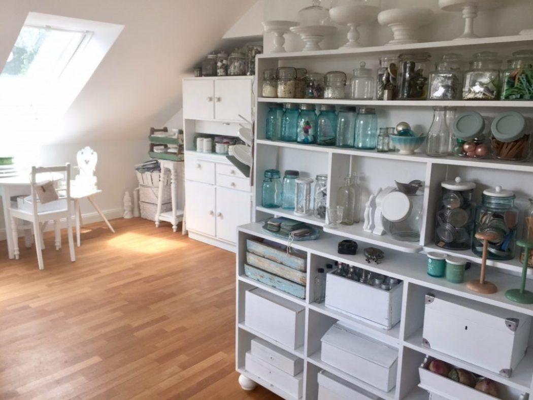 schöner wohnen. blick auf küchenschrank