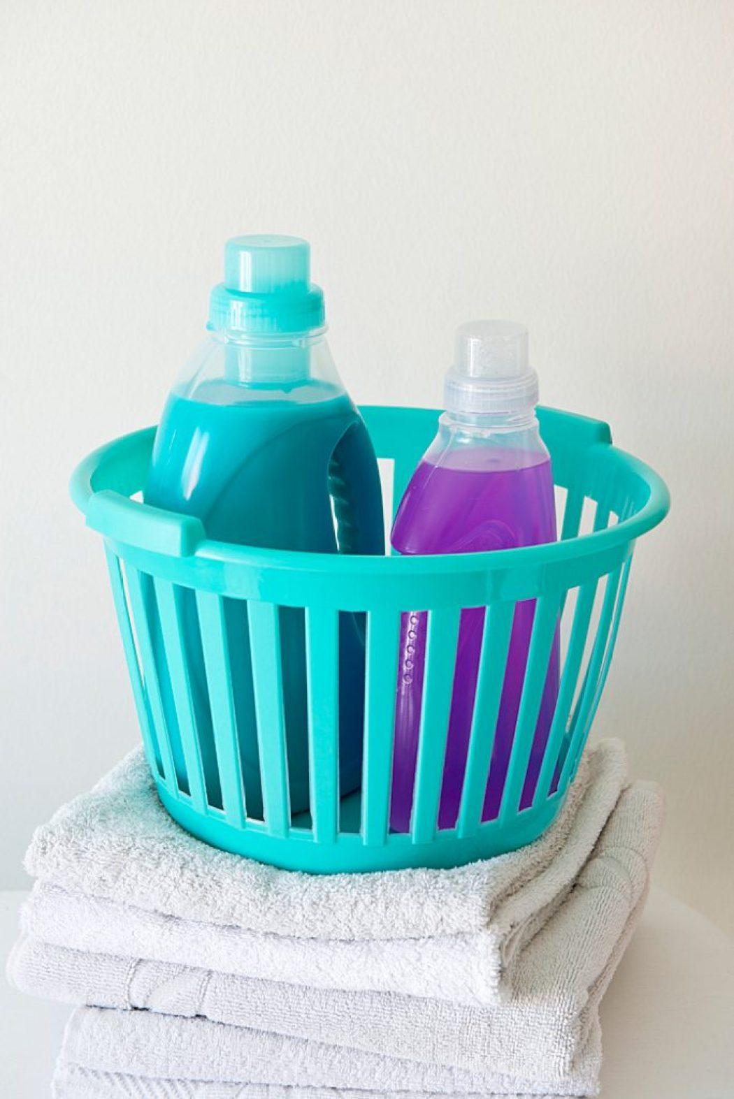Die Waschmaschine braucht manchmal etwas Mundwasser