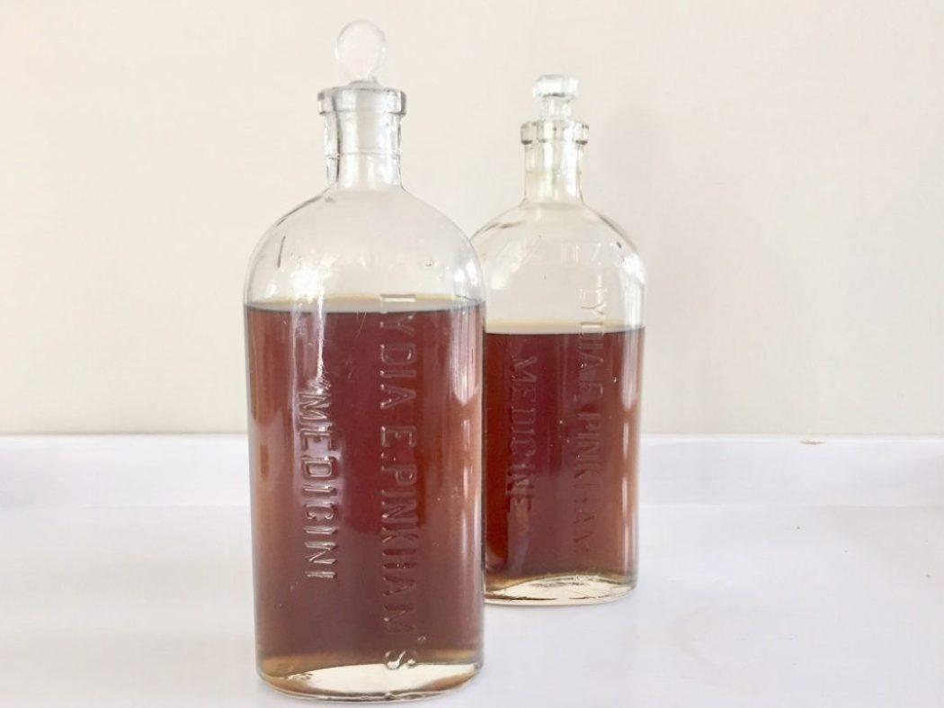 Wodka hausgemacht mit Kräuter