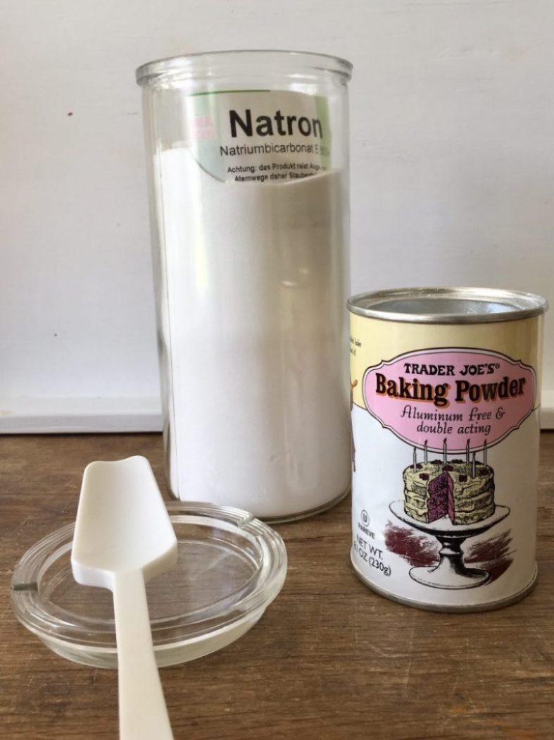 Natron muss in den Lebkuchen, damit er so schön feucht ist.