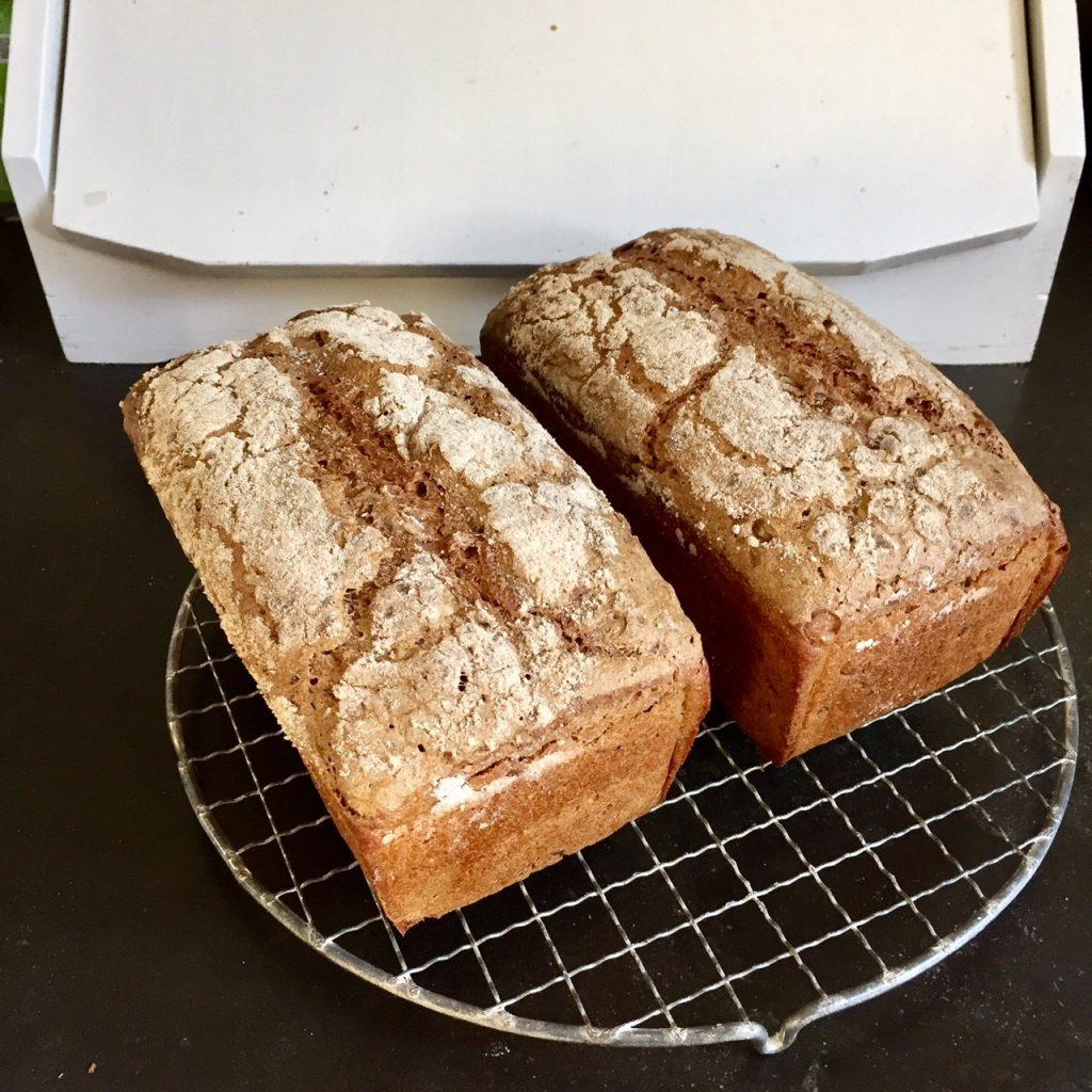 Brot essen ist gut für Leib und Seele