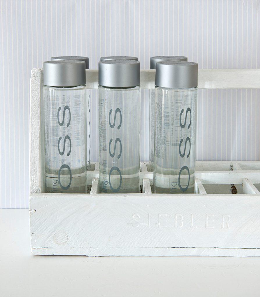 hilft der Umwelt, wenn wasser aus der Leitung zuhause in flaschen gefüllt wird