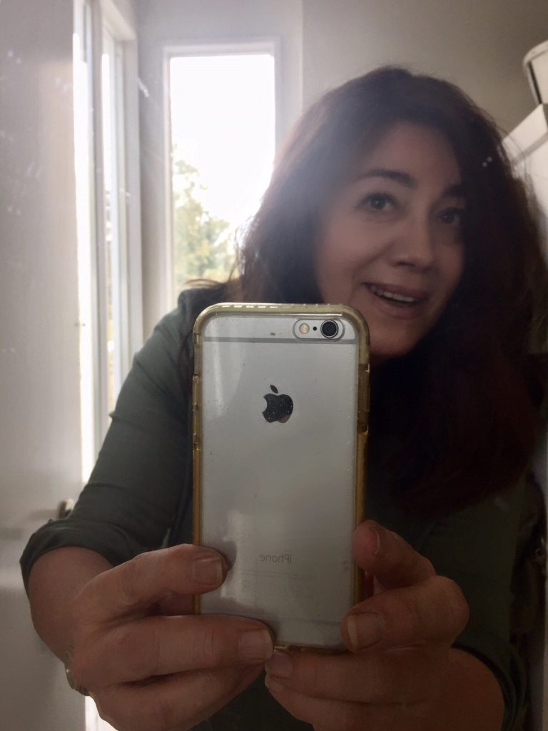 Kompliment. Auch wenn das Selfie unscharf geworden ist.