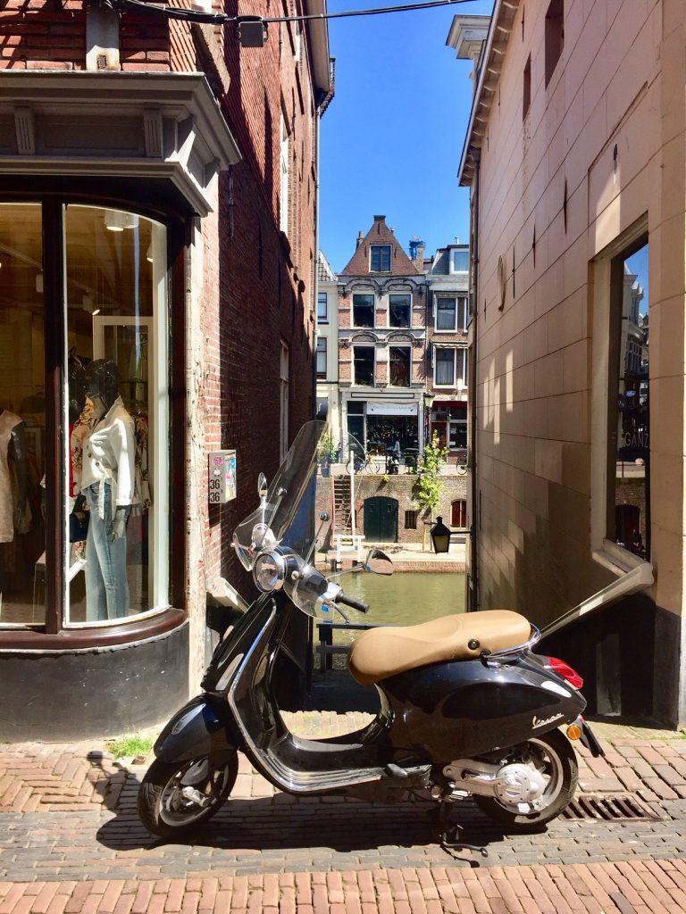 Shopping in Utrecht am besten zu Fuß oder auf zwei Rädern