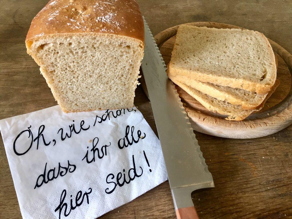 Brot ist immer ein schönes Willkommen