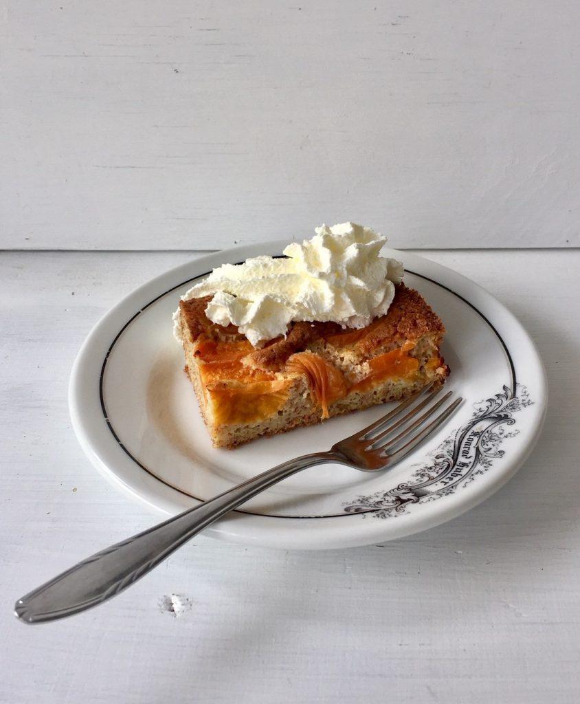 Bio Aprikosen Kuchen. Schnell gemacht.
