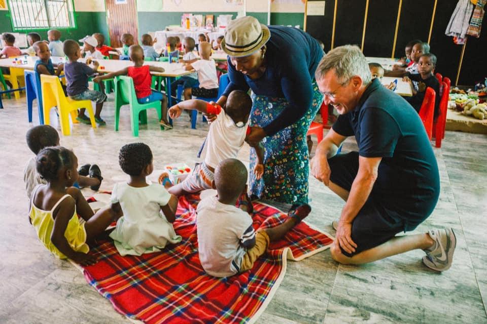 Viktor Worms hat ein Herz für Afrika