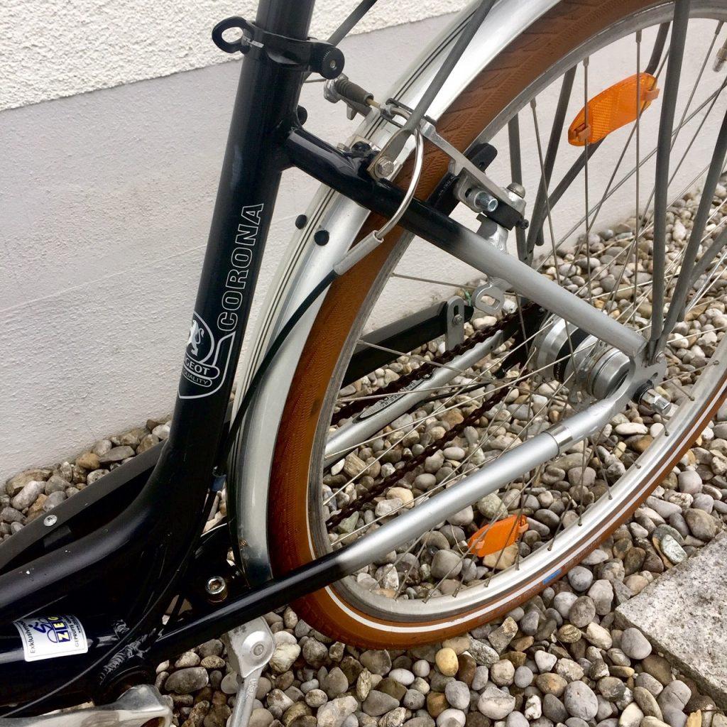 Ein Fahrrad namens Corona