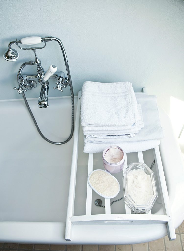 Badezimmer und Accessoires vom Flohmarkt