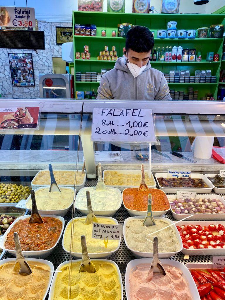 hier gibt es die besten Falafel in ganz Wien