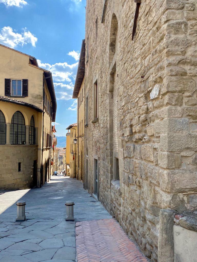 Gott war bestimmt auch mal in Arezzo