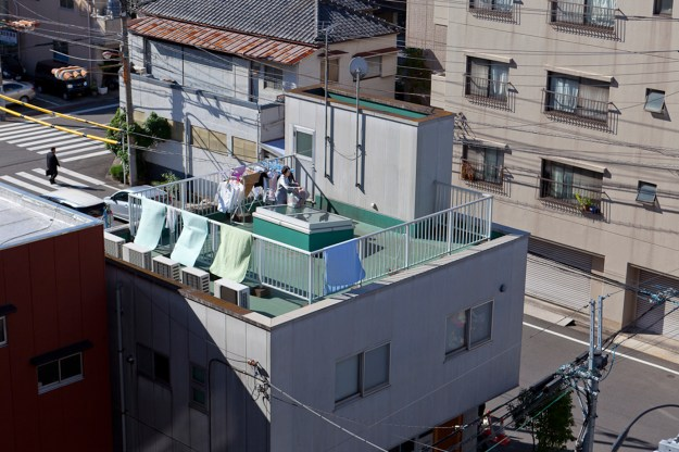 Blown off roof, Tatekawa Series of photographs, 57 x 38 cm  2014