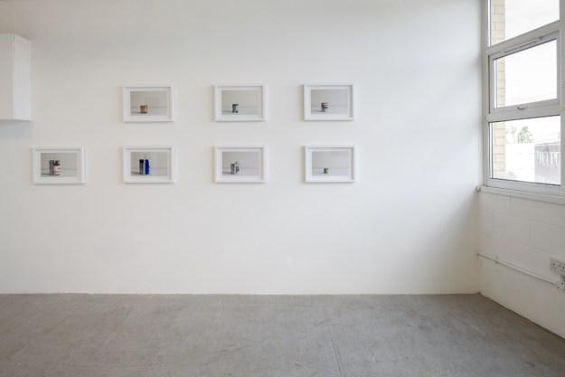Martin Streit and Peter Abrahams, installation, Raum X London, July 2016