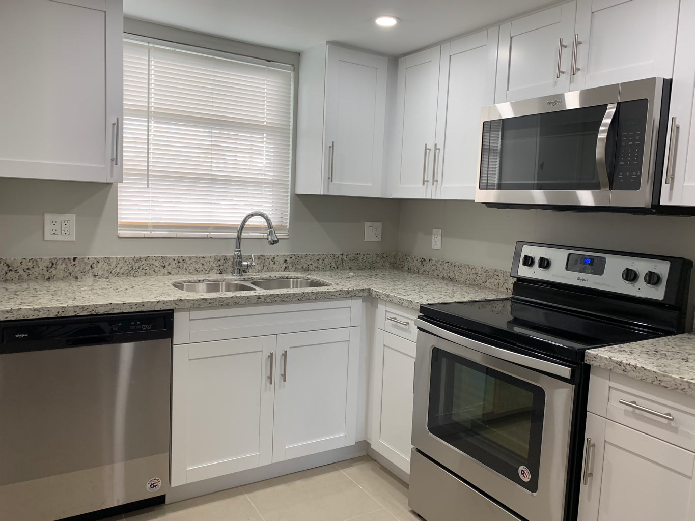 Small Kitchen Remodel with White Shaker Cabinets — Miami ... on Small Kitchen Remodel  id=76714