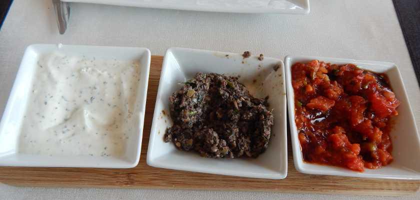 Vorspeisen türkische Küche, Meze