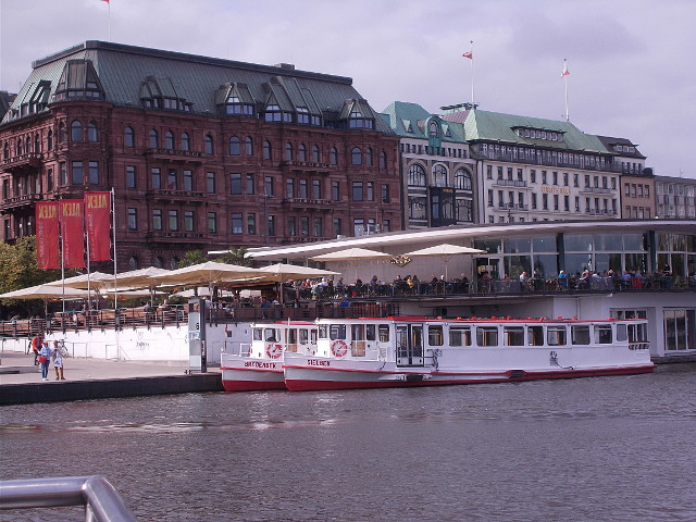 Anlegestelle Jungfernstieg Hamburg