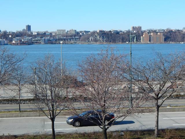 Blick auf den Hudson River und New Jersey