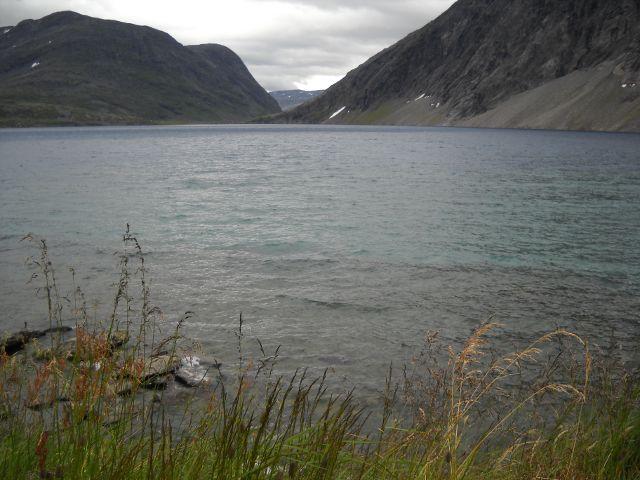 Djupbatn See Geiranger Norwegen