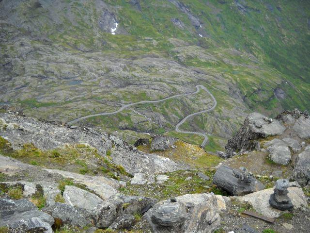 Straße zum Dalsnibba