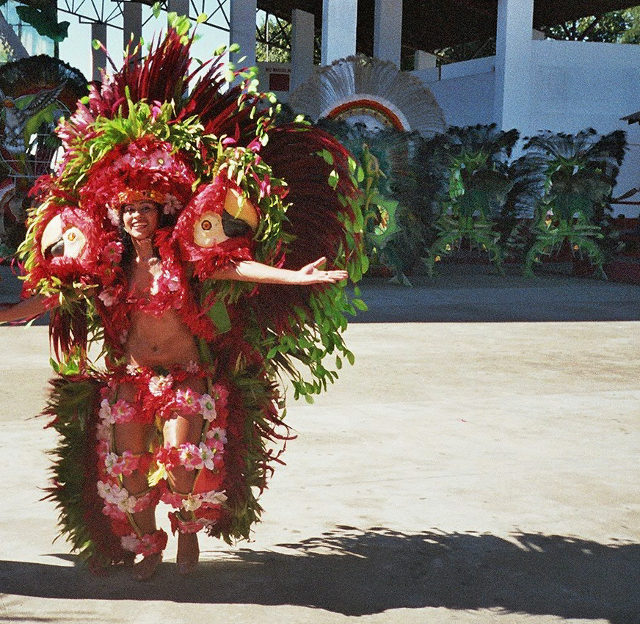 Parintins Tänzerin am Amazonas, Karneval in Brasilien