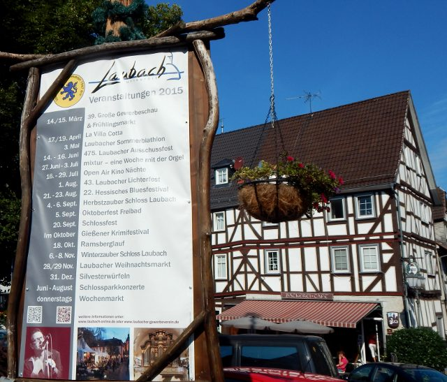 Veranstaltungen in Laubach
