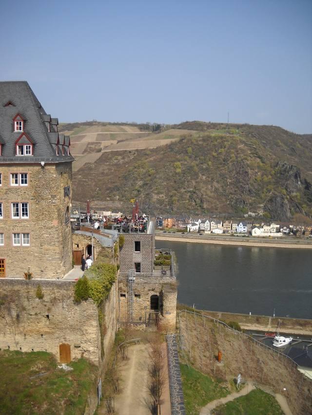 Welterbeterrasse Schloss Rheinfels
