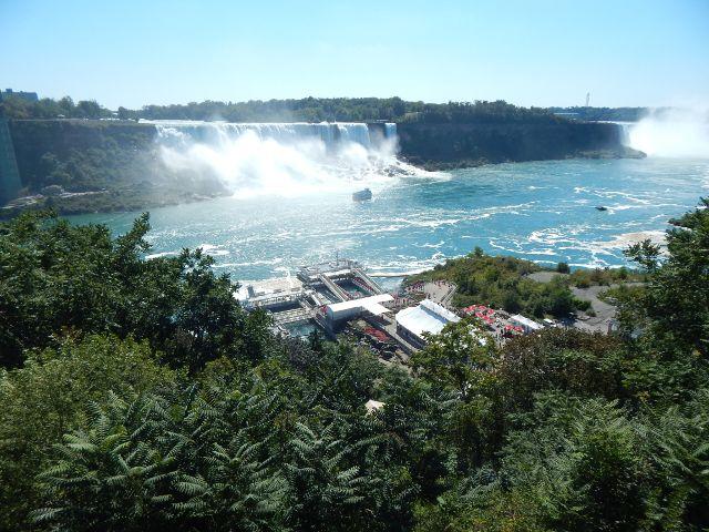 Die Niagarafälle in Kanada.