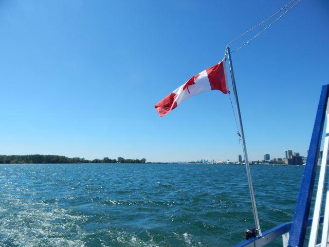 Eine Schifffahrt auf dem Ontariosee, Toronto