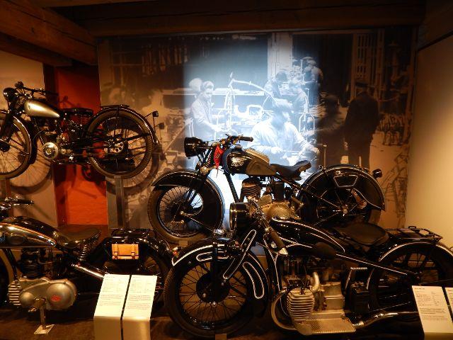 alte Motorräder im PS-Speicher