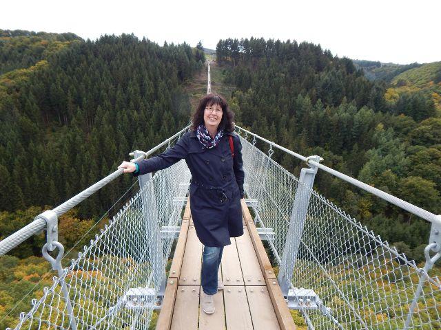 Deutschlands größte Hängeseilbrücke